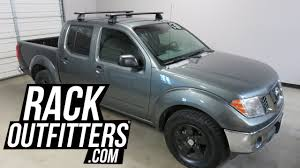 nissan frontier with rhino rack 2500 vortex roof rack crossbars