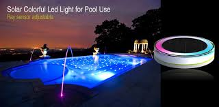 solar swimming pool lights led swimming pool light solar floating led pool light with rgb leds