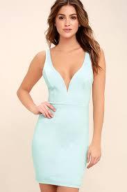 buy cheap perfect pick light blue bodycon dress