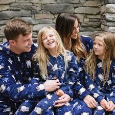 sleepytimepjs family matching penguin fleece onesie pjs