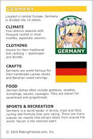 germany fact card for your scout world thinking day or
