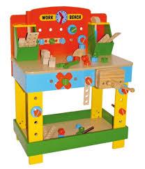 children u0027s tobi wooden work bench wooden toy workbench u0026 tools
