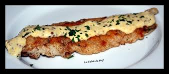 cuisiner filet de merlan filet de merlan sauce moutarde la table de stef
