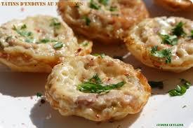 cuisiner des endives tatins d endives au maroilles recette flexipan cuisine guylaine