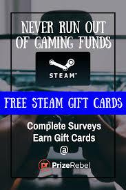 10 dollar steam gift card free steam wallet prizerebel
