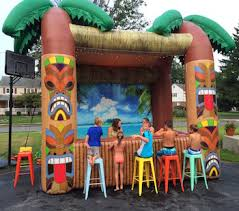 portable tiki bar party rental in ct funtastic inflatables 2017