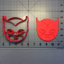 mask owlette 101 cookie cutter