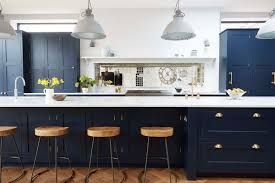 Painted Blue Kitchen Cabinets Navy White Kitchen Reveal Brittanymakes Collect This Idea Navy