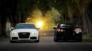 Nissan Gtr Back - simplywallpapers com audi rs5 nissan gt r back view cars front
