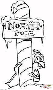 christmas north pole coloring page free printable coloring pages