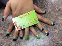 seahawk nails sports nail art football nail art lime green