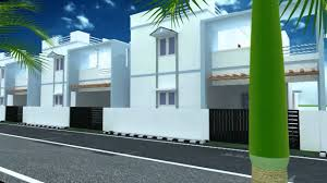 Row House Front Elevation - 3d home elevation youtube