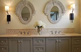 bathroom backsplash ideas how to a backsplash for a bathroom vanity home design ideas