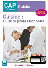 livre de cuisine cap livre cuisine culture professionnelle cap cuisine 1re 2e avec