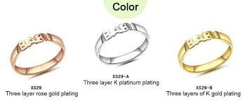 personalized ring hot rings personalized rings initials custom silver