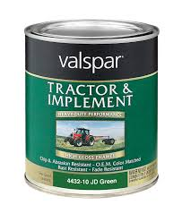 amazon com valspar 4432 10 john deere green tractor and implement