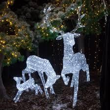 reindeer displays outdoor reindeer decorations uk world