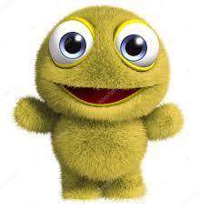 cute alien u2014 stock photo bertoszig 13302043
