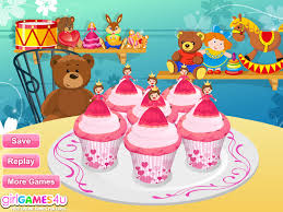 pink princess cupcakes games cooking games