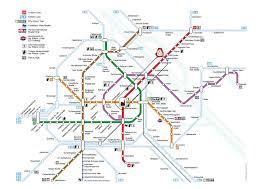Metro Station In Dubai Map by Austria Center Vienna Getting Around By Public Transport