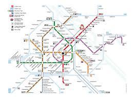 Metro Station Map In Dubai by Austria Center Vienna Getting Around By Public Transport