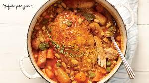 cuisiner un cassoulet cassoulet de fesse de porc de trois fois par jour recettes iga