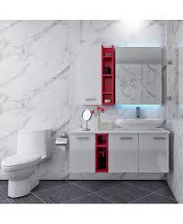 Acrylic Bathroom Storage 130b Modern Colorful High Gloss Acrylic Bathroom Cabinet