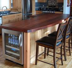 wood tops for kitchen islands timber frame counters tops new energy works