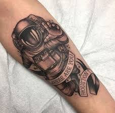 astronaut tattoo meaning 50 best artists top shops