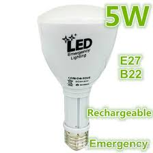 best smart led rechargeable bulb for emergency indoor and outdoor