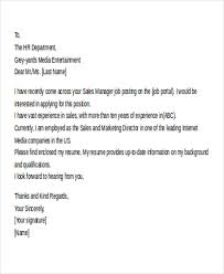 11 email cover letter templates sample example free email cover