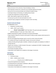 Sample Resume For Construction Manager by Download Resume For Construction Worker Haadyaooverbayresort Com