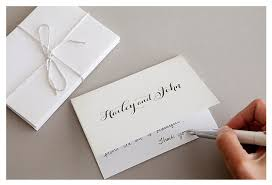 bridal shower thank you cards wedding thank you cards ideal time when to send wedding thank you