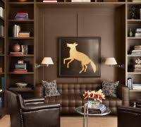 lovely sofa bookcase with bungalow living room designs