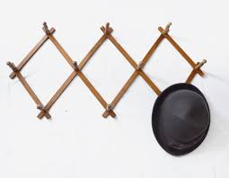 distressed diamond expandable coat rack u2013 jewelry