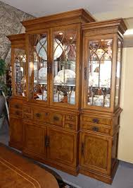 Antique Breakfront China Cabinet by Encore Furniture Gallery Casegoods
