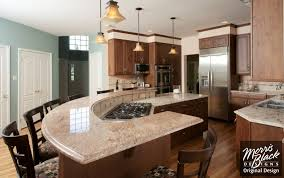 curved kitchen island designs curved kitchen island strictly reference for heights at