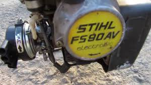 stihl fs90 av youtube