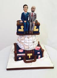 image result for travel themed wedding cakes wedding cakes