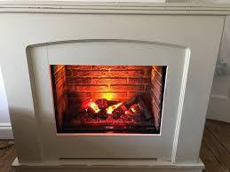 dimplex alameda opti myst electric fire 2kw fan heater in