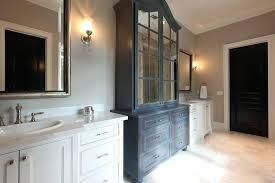 Linen Cabinet Doors Free Standing Linen Closet Bemine Co