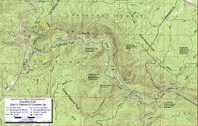 Montana Topographic Map by Ouachita Trail Maps Ouachita Mountains Ok Ar Free Detailed Topos