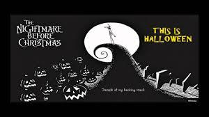 nightmare before christmas halloween background this is halloween backing track karaoke instrumental nightmare