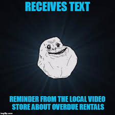 Video Meme Creator - he waited for someone to watch them with him but they never came