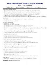 Best Resume Summary Examples Of Resumes 93 Marvellous Basic Resume Simple Sample Doc