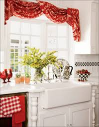 Grey Red Curtains Kitchen Red And Black Curtains Nautical Valances Red Curtains