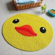 Yellow Duck Bath Rug Ustide Anti Skid Pvc Bathroom Rug Yellow Duck