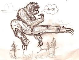sketch please kung fu animal
