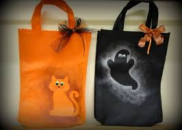 trick or treat bags treat bags craft ideas