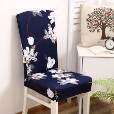 online get cheap blue dining chair covers aliexpress com